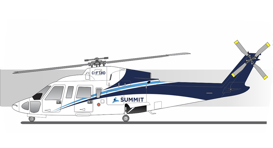 Summit Helicopters S-76A++ Helicopter